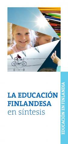 Finnish education in a nutshell in Spanish La educación finlandesa en síntesis portada