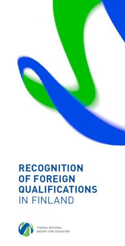 Recognition of foreign qualifications in Finland cover picture