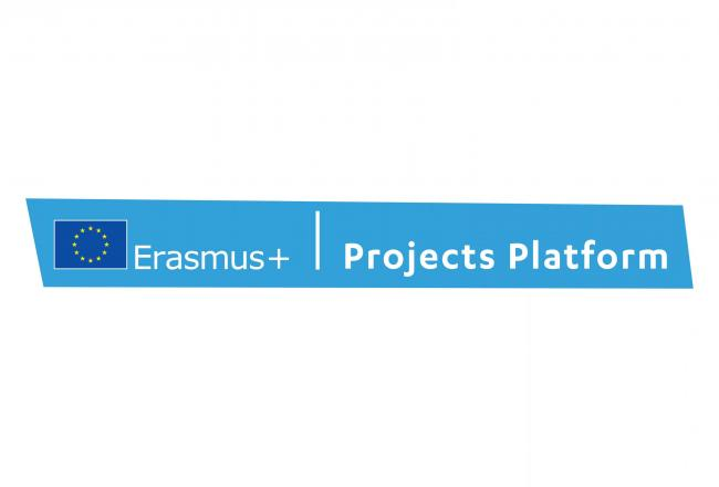 Erasmus+ Projects Platform -banneri