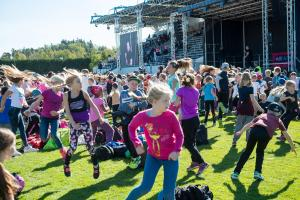 100 000 finländska barn och unga rör på sig under Europeiska idrottsveckan