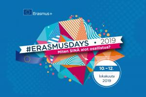 Kiiminki general upper secondary school participates in #ErasmusDays in a way that comes naturally to the school