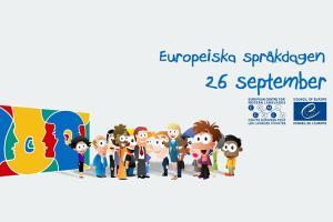 Den Europeiska språkdagen firas den 26 september