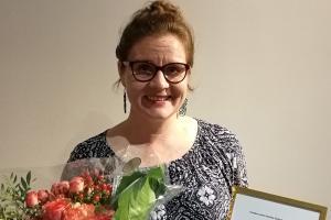 Vuoden 2019 suomi toisena kielenä -opettajaksi Nuppu Tuononen