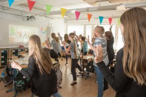 Liikkuva koulu -ohjelma jatkaa työtä aktiivisemman koulupäivän edistämiseksi