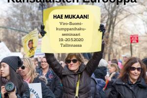 Peruttu: Kansalaisten Eurooppa: Viro-Suomi-kumppanihakuseminaari