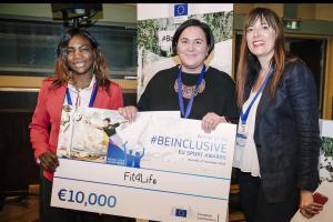 #BeInclusive EU Sport Awards – haku käynnissä nyt!