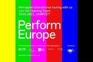 Perform Europe testaa uusia tukimalleja esittävän taiteen levitykseen