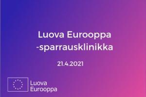 Luova Eurooppa -sparrausklinikka 21.4.
