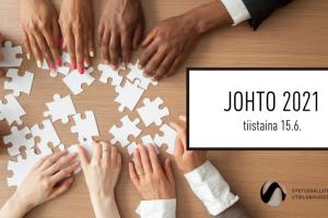 JOHTO 2021 – Rakennusaineita hyvinvoivaan työyhteisöön