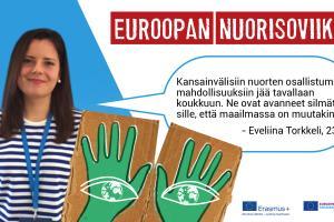 Eveliina Torkkeli: Nuorten tiedon ja osallistumisen lisäämiseksi on panostettava innostamisen ikuisuuskysymykseen