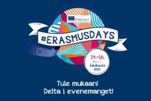 Osallistu #ErasmusDays-tapahtumaan lokakuussa!