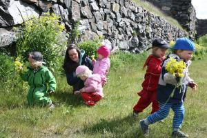 Webbinarium om välbefinnande inom småbarnspedagogiken