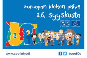 Kurkista uuteen kieleen Euroopan kielten päivänä!