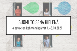 Suomi toisena kielenä -opetuksen kehittämispäivät - XIV kansallinen seminaari