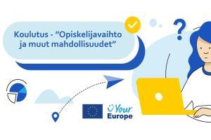 Your Europe Digital Roadshow'n aiheena koulutuksen kansainväliset mahdollisuudet