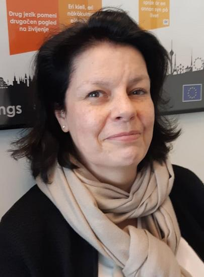 a portrait of ECEC Policy Officer Geraldine Libreau of the European Commission
