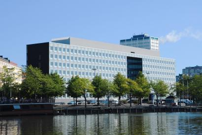 The main office building of The Finnish National Agency for Education in Hakaniemi, Helsinki